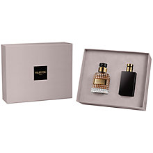 Buy Valentino Uomo 50ml Eau de Toilette Fragrance Gift Set Online at johnlewis.com