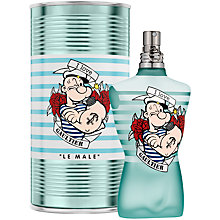 Buy Jean Paul Gaultier Le Male Eaux Fraîche Popeye Eau de Toilette Limited Edition, 125ml Online at johnlewis.com