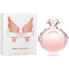 Buy Paco Rabanne Olympéa Aqua Eau de Toilette, 50ml Online at johnlewis.com