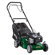 Buy Atco Quattro 16S 41cm Self-propelled Petrol Lawnmower Online at johnlewis.com