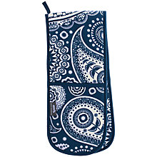 Buy Mini Moderns Paisley Double Oven Glove Online at johnlewis.com