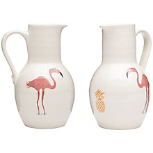 Buy Fenella Smith Flamingo and Pineapple Little Jug Online at johnlewis.com