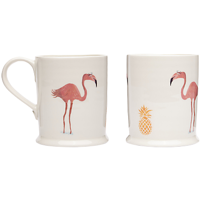 Fenella Smith Flamingo and Pineapple Large Mug
