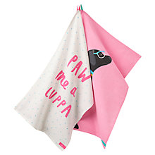 Buy Joules Labrador Tea Towels, Set of 2 Online at johnlewis.com
