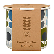 Buy Orla Kiely Grow Your Own Chillies Gardening Gift Online at johnlewis.com