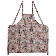 Buy House of Hackney Hyacinth Apron, Dove Grey Online at johnlewis.com