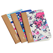 Buy Joules Notebooks, Pack of 3 Online at johnlewis.com