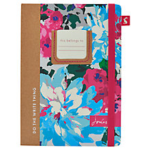 Buy Joules A5 Notebook, Multi Online at johnlewis.com