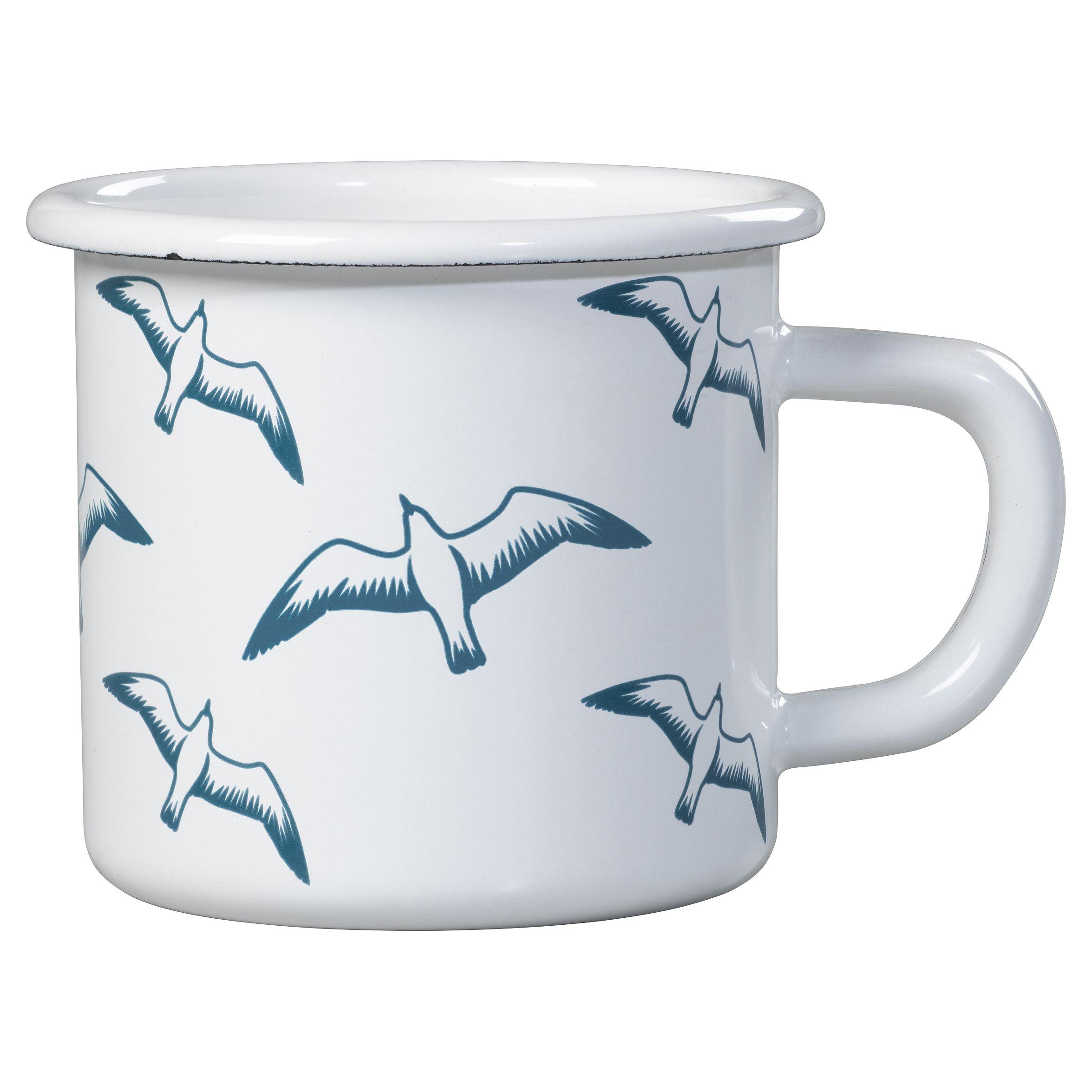 Mini Moderns Mini Moderns Whitby Seagulls Mug, Enamel
