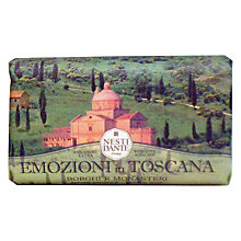 Buy Nesti Dante Emozioni in Toscana Borghi e Monasteri Soap, 250g Online at johnlewis.com
