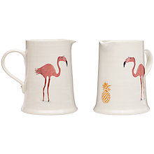 Buy Fenella Smith Flamingo and Pineapple Useful Jug Online at johnlewis.com