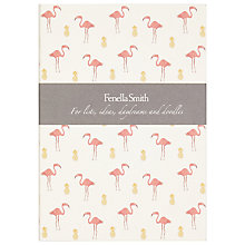 Buy Fenella Smith Flamingo and Pineapple Notebook Online at johnlewis.com