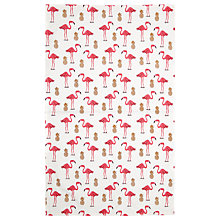 Buy Fenella Smith Flamingo and Pineapple Tea Towel Online at johnlewis.com