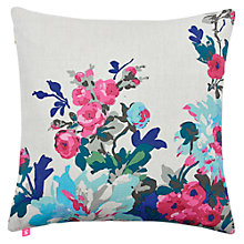 Buy Joules Birchley Cushion, Silver Online at johnlewis.com