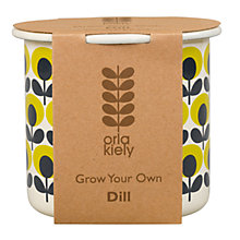 Buy Orla Kiely Grow Your Own Dill Gardening Gift Online at johnlewis.com