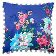 Buy Joules Chevening Cushion, Blue Online at johnlewis.com