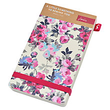 Buy Joules Ditsy Memo Pad, Cream Online at johnlewis.com