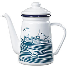 Buy Mini Moderns Whitby Coffee Pot, Enamel Online at johnlewis.com