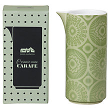 Buy Mini Moderns Ceramic Carafe, Lichen Green Online at johnlewis.com