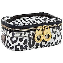 Buy House of Hackney Panthera Cosmetic Washbag, White/Black Online at johnlewis.com