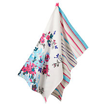 Buy Joules Cream Thea Tea Towel. set of 2 Online at johnlewis.com