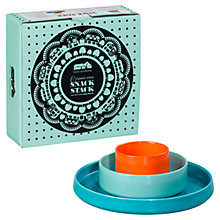 Buy Mini Moderns Ceramic Snack Stack, Set of 3 Online at johnlewis.com