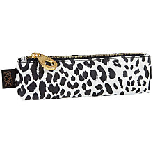 Buy House of Hackney Panthera Print Pencil Case, Black and White Online at johnlewis.com