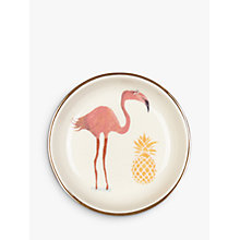 Buy Fenella Smith Flamingo and Pineapple Ring 9cm Plate Online at johnlewis.com