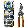 Orla Kiely Oval Flower Print Secateurs