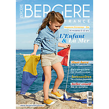 Buy Bergere De France Children and the Sea Knitting Pattern Magazine, 185 Online at johnlewis.com