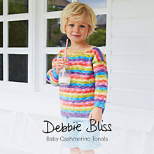 Buy Debbie Bliss Baby Cashmerino Tonals Knitting Pattern Brochure Online at johnlewis.com