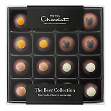 Buy Hotel Chocolat Father's Day 'The Beer Collection', Assorted Chocolates, Box of 16, 100g Online at johnlewis.com