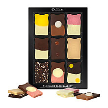 Buy Hotel Chocolat 'Nano Slab Gallery', Assorted Chocolates, Box of 9, 145g Online at johnlewis.com