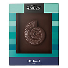 Buy Hotel Chocolat Father's Day Dark Chocolate Old Fossil, 210g Online at johnlewis.com