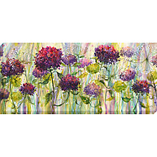 Buy Catherine Stephenson - Hydrangea Burst Canvas Print, 135 x 60cm Online at johnlewis.com