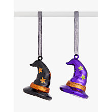 Buy John Lewis Halloween Hanging Decoration Witches Hat Online at johnlewis.com