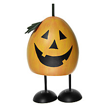 Buy John Lewis Halloween Metal Bounce Pumpkin Figure Online at johnlewis.com