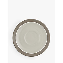 Buy John Lewis Scandi Puritan Cappuccino Saucer Online at johnlewis.com