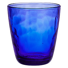 Buy John Lewis Handmade Tumbler, Nautical Blue Online at johnlewis.com