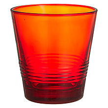 Buy John Lewis Chamonix Handmade Tumbler, Red Online at johnlewis.com