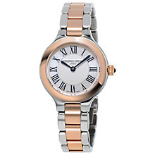 Buy Frédérique Constant FC-200M1ER32B Women's Delight Two Tone Bracelet Strap Watch, Silver/Rose Gold Online at johnlewis.com