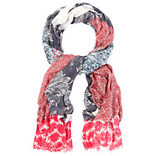 Buy White Stuff Pressed Flower Patchwork Scarf, Multi Online at johnlewis.com