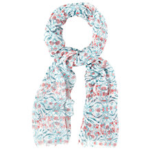 Buy White Stuff Leaping Rabbits Scarf, Multi Online at johnlewis.com