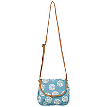 Buy White Stuff Maisy Blossom Across Body Bag, Aegean Blue Online at johnlewis.com