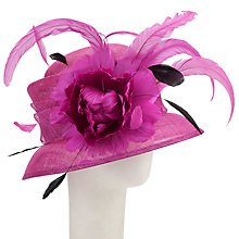 Buy John Lewis Alana Feather Small Brim Occasion Hat Online at johnlewis.com