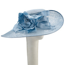 Buy John Lewis Cali Waves Wide Brim Occasion Hat, Bluebell Blue Online at johnlewis.com