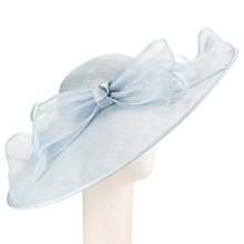 Buy John Lewis Zara Side Up Disc Occasion Hat, Ice Online at johnlewis.com