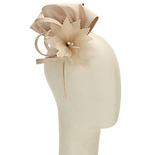Buy John Lewis Mia Satin Loop Flower Fascinator Online at johnlewis.com