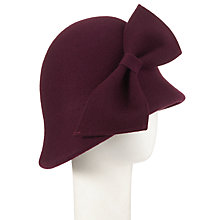 Buy Whiteley Lola Cloche Hat, Mulbery Online at johnlewis.com