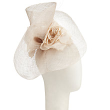 Buy John Lewis Alexa Metallic Fascinator, Champagne Online at johnlewis.com